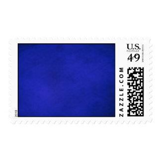 Royal Blue & Black Backgrounds Postage