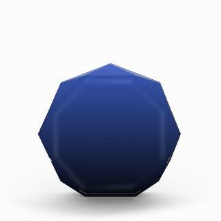 Royal Blue Black Ombre Award