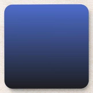 Royal Blue Black Ombre Coaster
