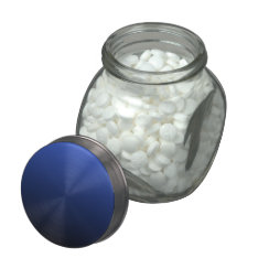 Royal Blue Black Ombre Jelly Belly Candy Jars at Zazzle