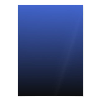 Royal Blue Black Ombre Magnetic Card