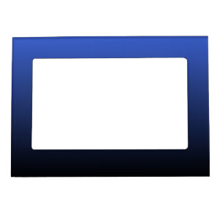 Royal Blue Black Ombre Magnetic Frame