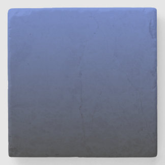 Royal Blue Black Ombre Stone Coaster