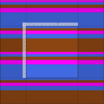 [ Thumbnail: Royal Blue, Brown, and Fuchsia Colored Pattern Fabric ]
