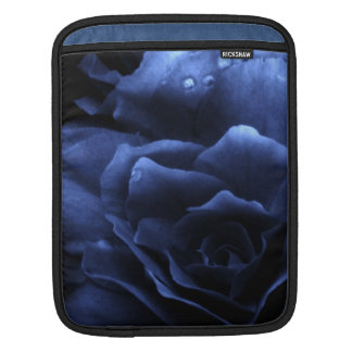 Royal Blue Close Up of a Double Begonia Sleeve For iPads