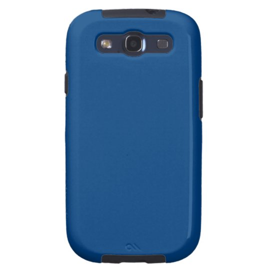 Royal Blue Color Only Custom Design Products Galaxy S3 Case
