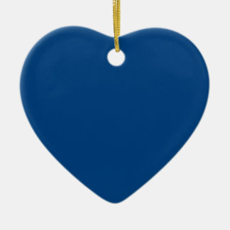 Royal Blue Color Only Custom Design Products Christmas Ornaments