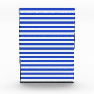 Royal Blue Combination Stripes Award