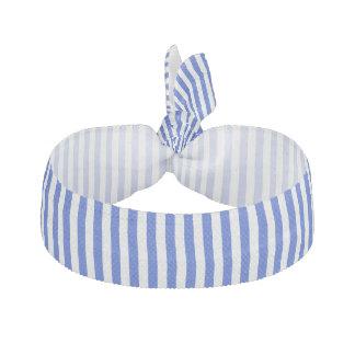 Royal Blue Combination Stripes Elastic Hair Ties