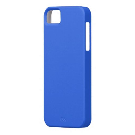Royal Blue Cover iPhone 5 Case