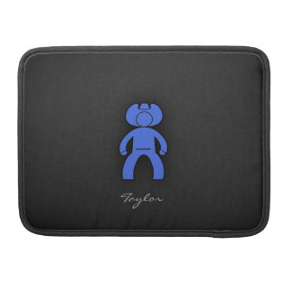 Royal Blue Cowboy Sleeve For MacBook Pro