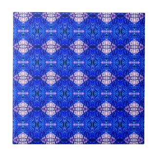 royal blue diamond sand hippie tiedye rug pattern tile
