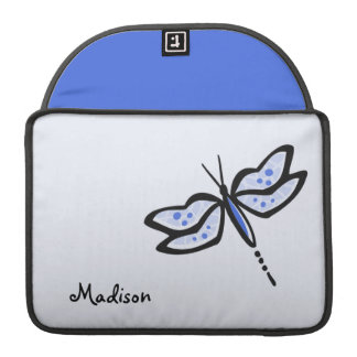 Royal Blue Dragonfly MacBook Pro Sleeve