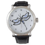 Royal Blue Dragonfly Wrist Watches