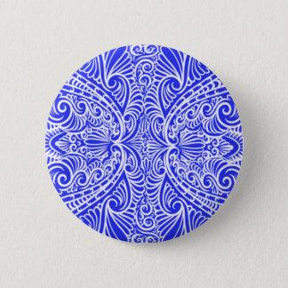 Royal Blue Elegant flow Button