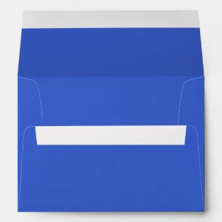 Royal Blue Envelopes