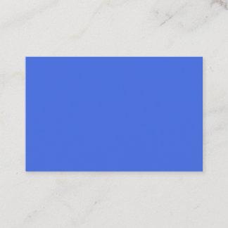 Royal Blue European Business Card