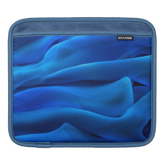 Royal blue flowing light textile elegant chic airy iPad sleeves