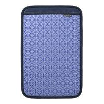 Royal Blue Fractal Pattern 11 Inch MacBook Air Sleeve