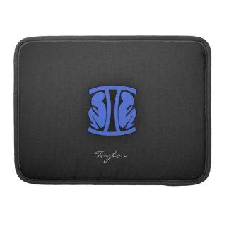 Royal Blue Gemini Sleeve For MacBooks