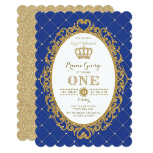 Prince Birthday Invitations Zazzle