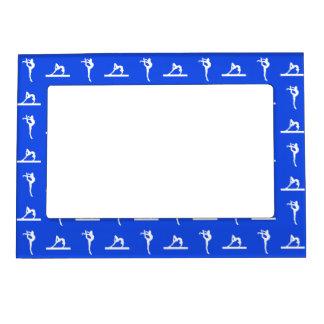 Royal Blue Gymnastics Magnetic Picture Frame