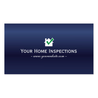 Royal Blue Home Inspections Business card