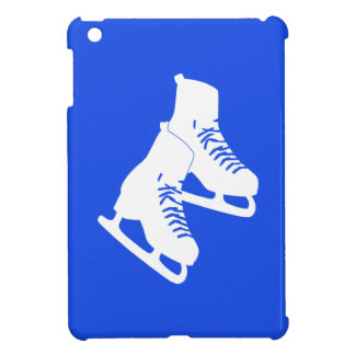 Royal Blue Ice Skates iPad Mini Case