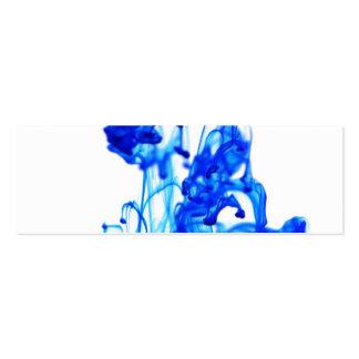 Royal Blue Ink Drop Macro Photography Business Card Template