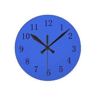 Royal Blue Kitchen Wall Clock