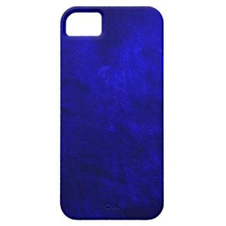 Royal Blue Leather iPhone SE/5/5s Case