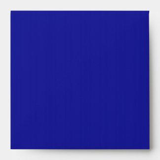 Royal Blue Linen Envelopes