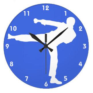 Royal Blue Martial Arts Clocks