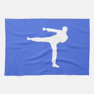 Royal Blue Martial Arts Towel