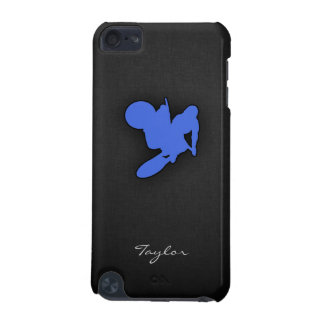 Royal Blue Motocross iPod Touch (5th Generation) Case