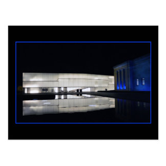 Royal Blue Nelson-Atkins Museum of Art Postcard