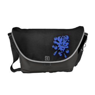Royal Blue Paintball Courier Bag