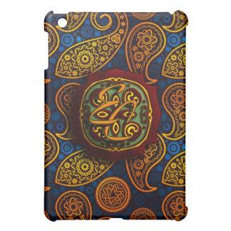 Royal Blue Paisley iPad Mini Cover