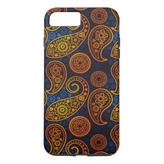 Royal Blue Paisley iPhone 8 Plus/7 Plus Case
