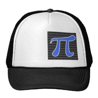 Royal Blue Pi Symbol Trucker Hat