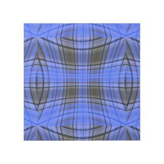 Royal Blue Plaid Gallery Wrap
