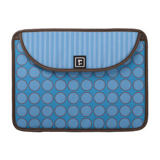 Royal Blue Polka Dots Sleeve for MacBooks