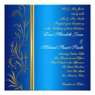 Royal Blue Popular Wedding Invitation Invites