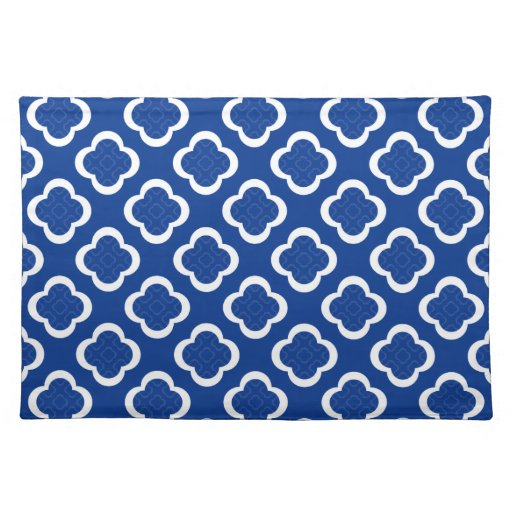 Royal Blue Quatrefoil Geometric Pattern Placemat Zazzle : royalbluequatrefoilgeometricpatternplacemat r14f8e029cf9f4171b432e88652e5e2662cfku8byvr512 from www.zazzle.com size 512 x 512 jpeg 73kB