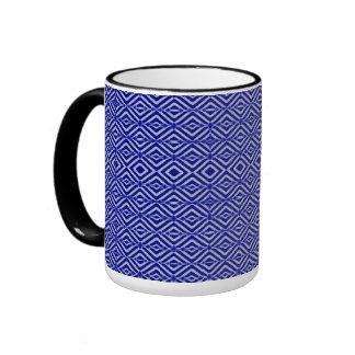 Royal Blue Ringer Coffee Mug
