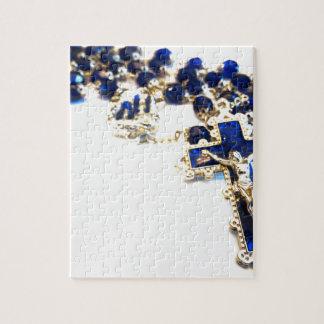 Royal Blue Rosary Jigsaw Puzzle