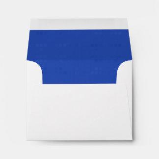 Royal Blue RSVP Wedding Response B36 Envelope