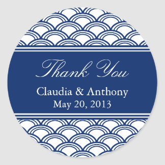 Royal Blue Wedding Stickers Zazzle