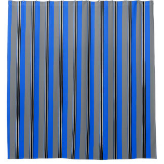 royal blue shower curtains zazzle