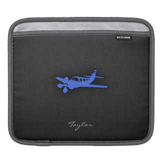 Royal Blue Small Plane Sleeve For iPads